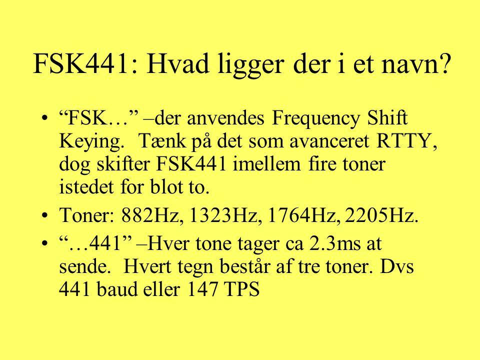 FSK441: Hvad ligger der i et navn