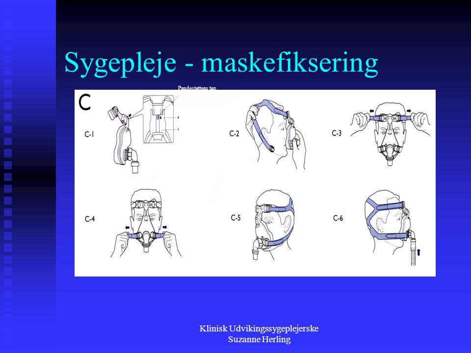 Sygepleje - maskefiksering