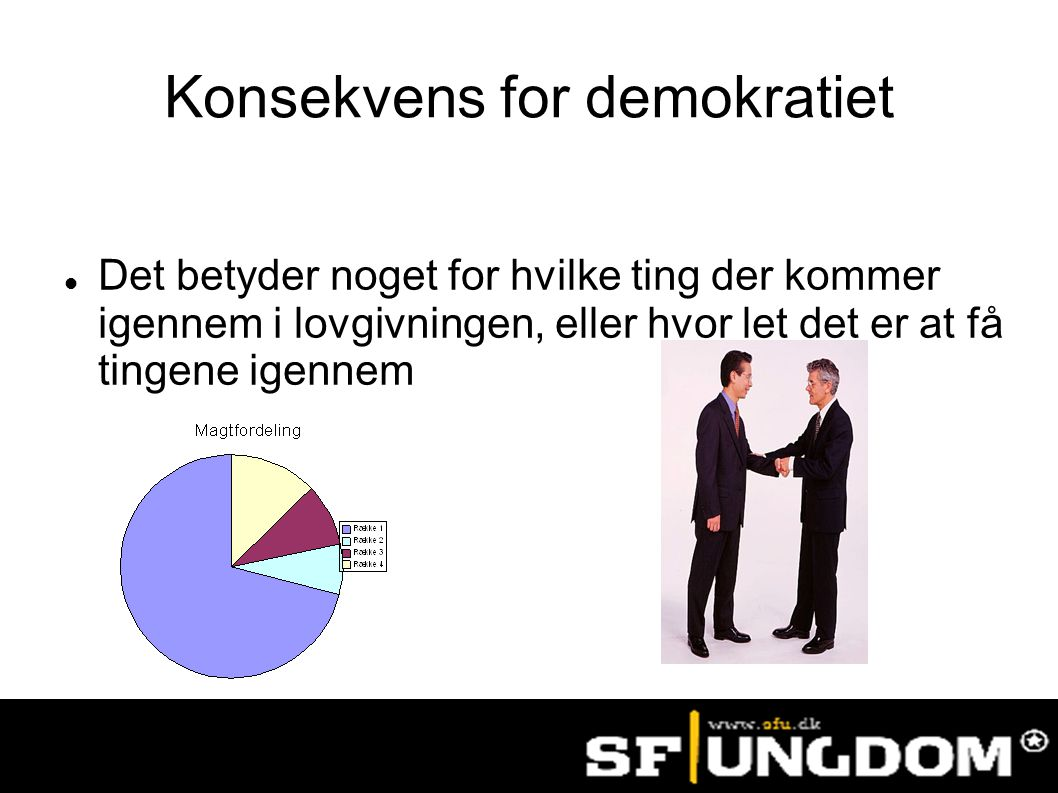 Konsekvens for demokratiet