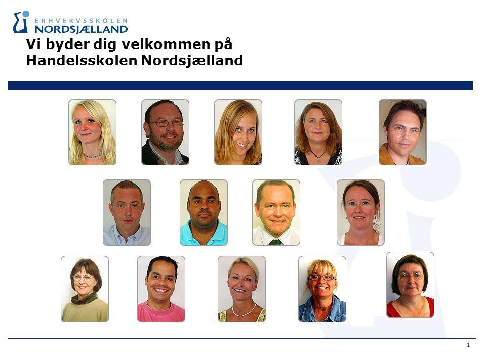Vi byder dig velkommen på Handelsskolen Nordsjælland