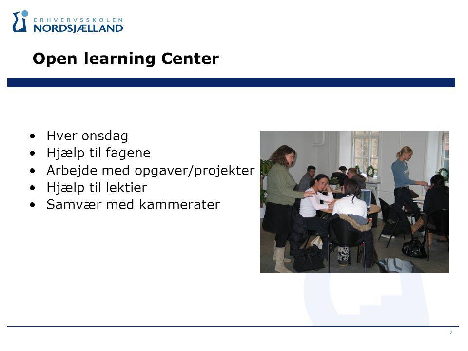 Open learning Center Hver onsdag Hjælp til fagene