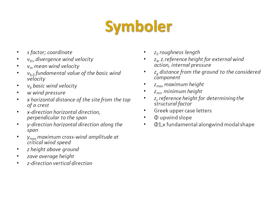 Symboler s factor; coordinate vdiv divergence wind velocity