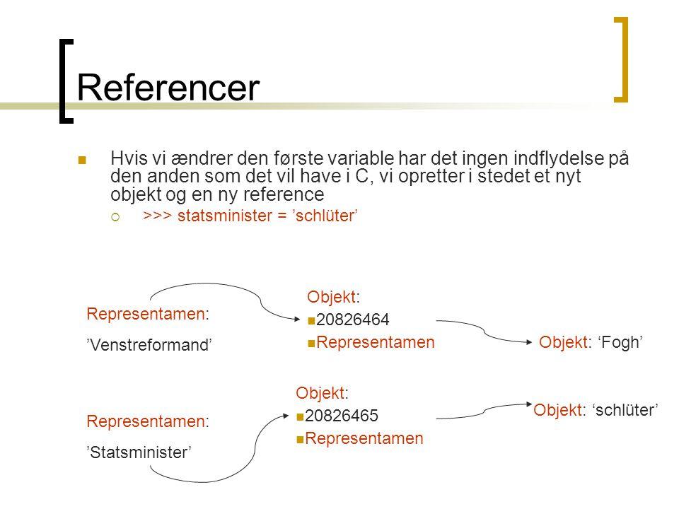Referencer