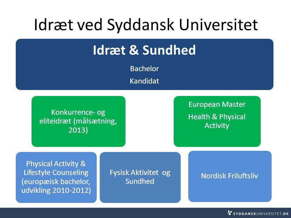 Idræt ved Syddansk Universitet