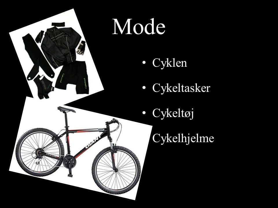 Mode Cyklen Cykeltasker Cykeltøj Cykelhjelme