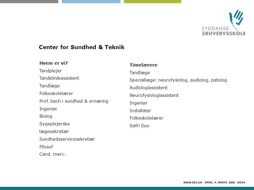 Center for Sundhed & Teknik