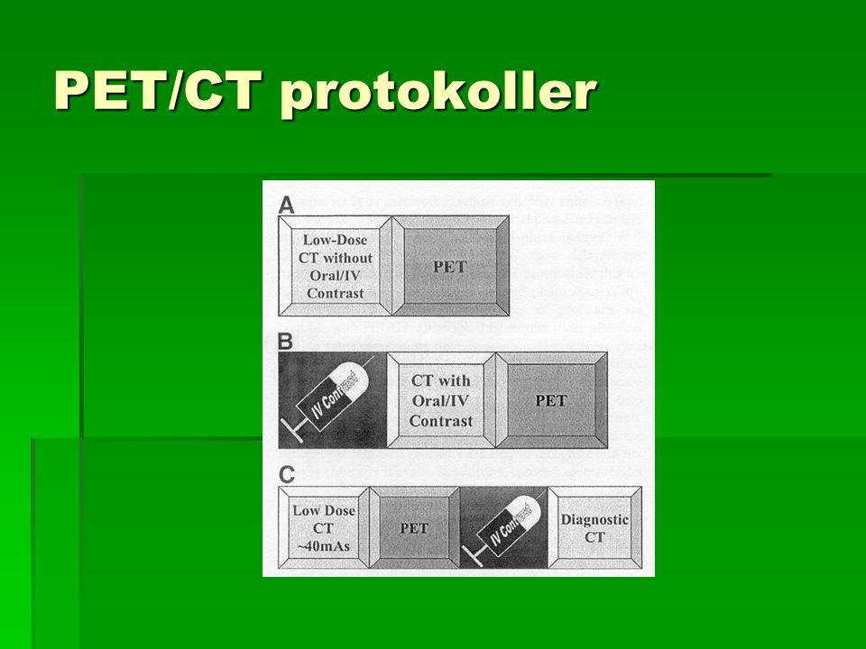 PET/CT protokoller