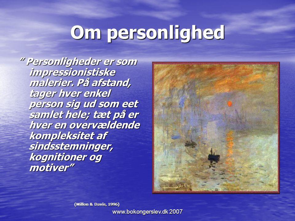 Om personlighed