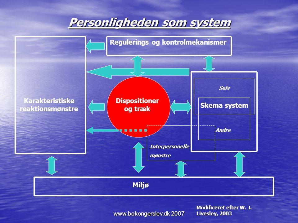 Personligheden som system
