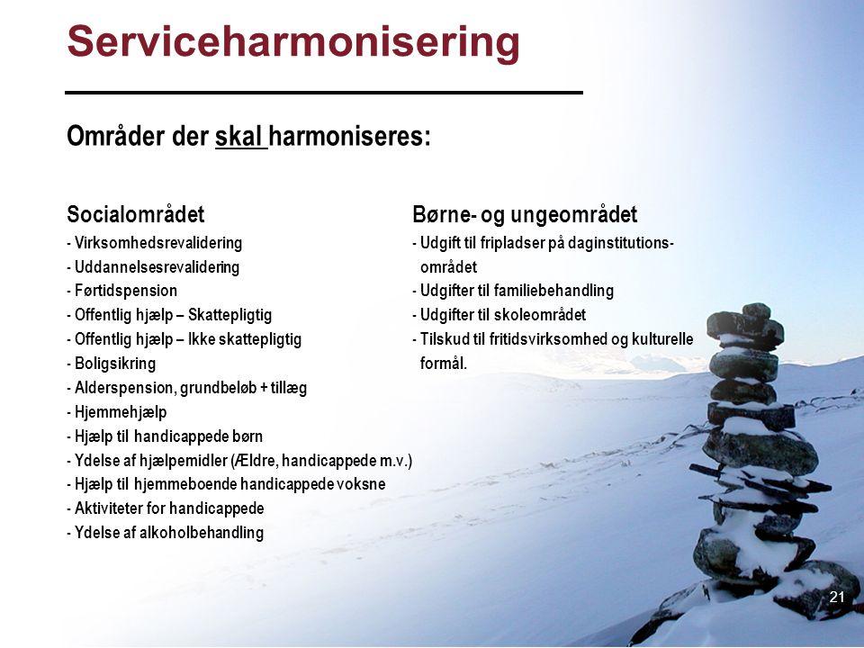 Serviceharmonisering