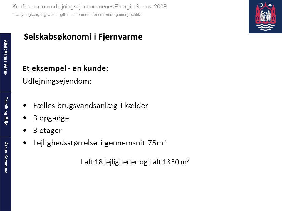 Selskabsøkonomi i Fjernvarme