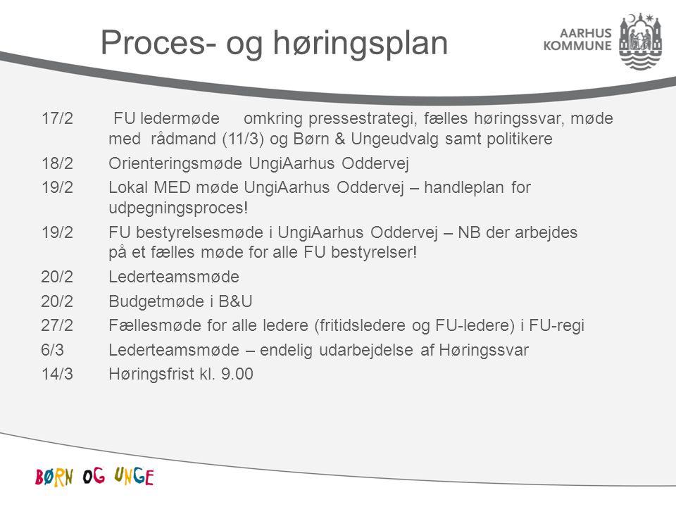 Proces- og høringsplan