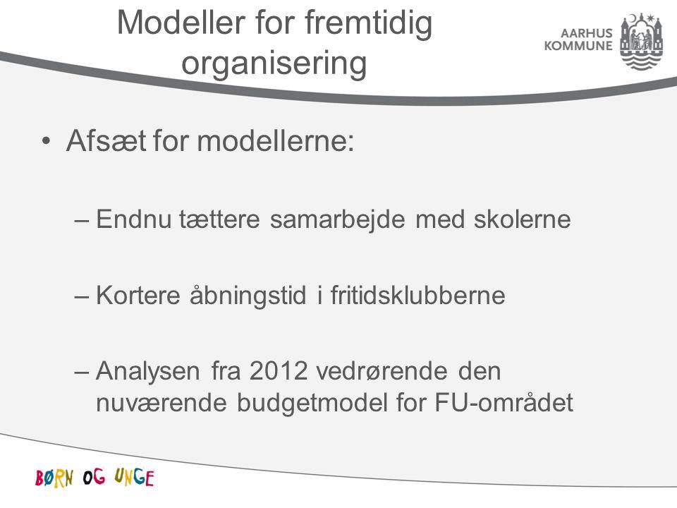 Modeller for fremtidig organisering