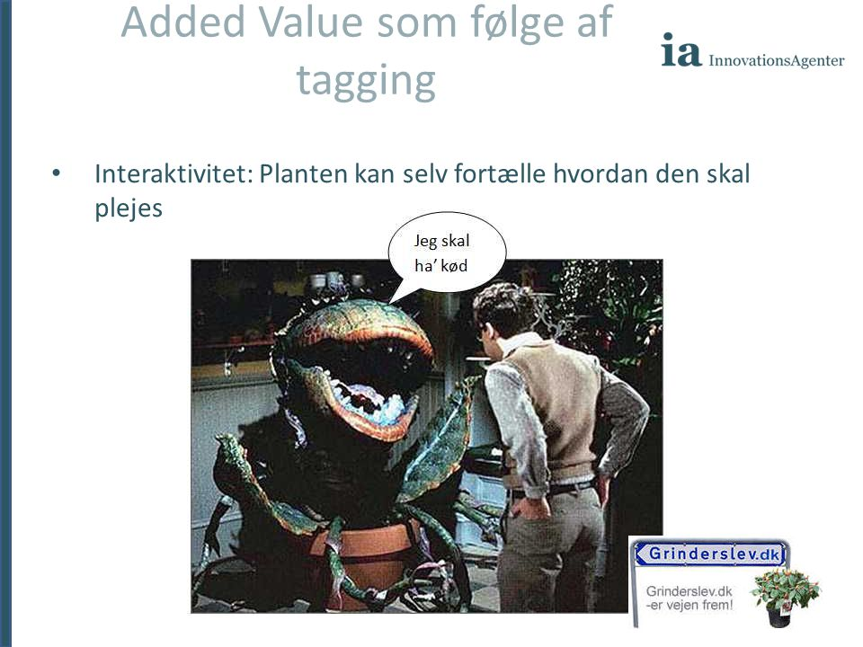 Added Value som følge af tagging