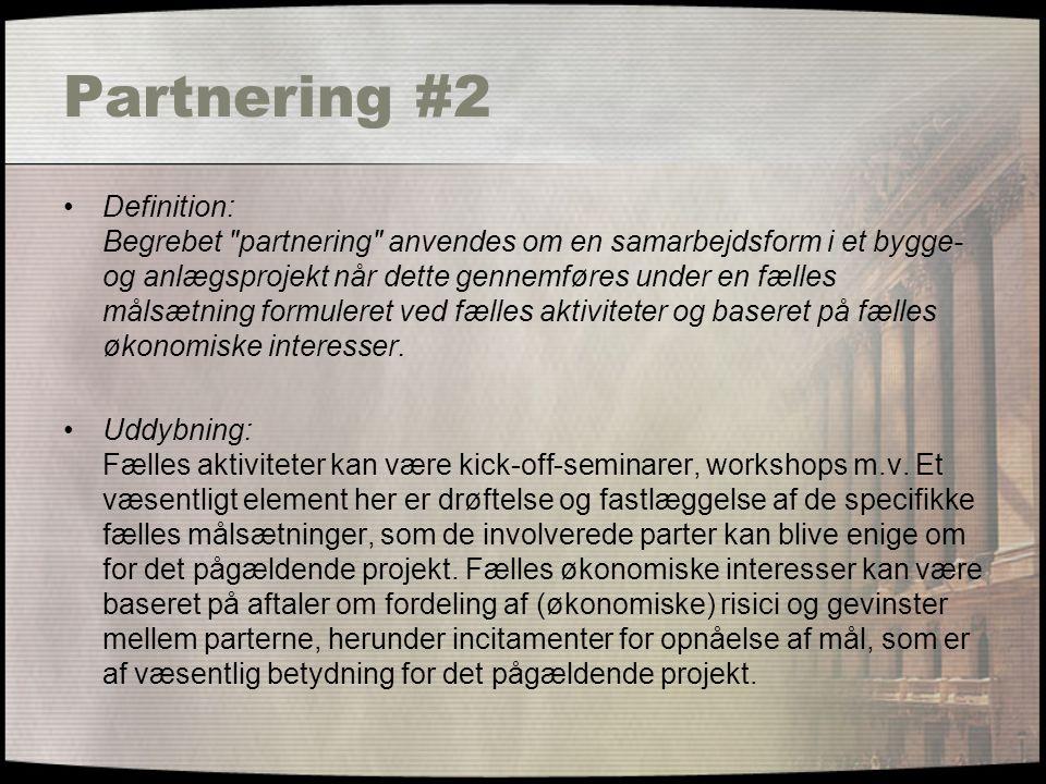 Partnering #2