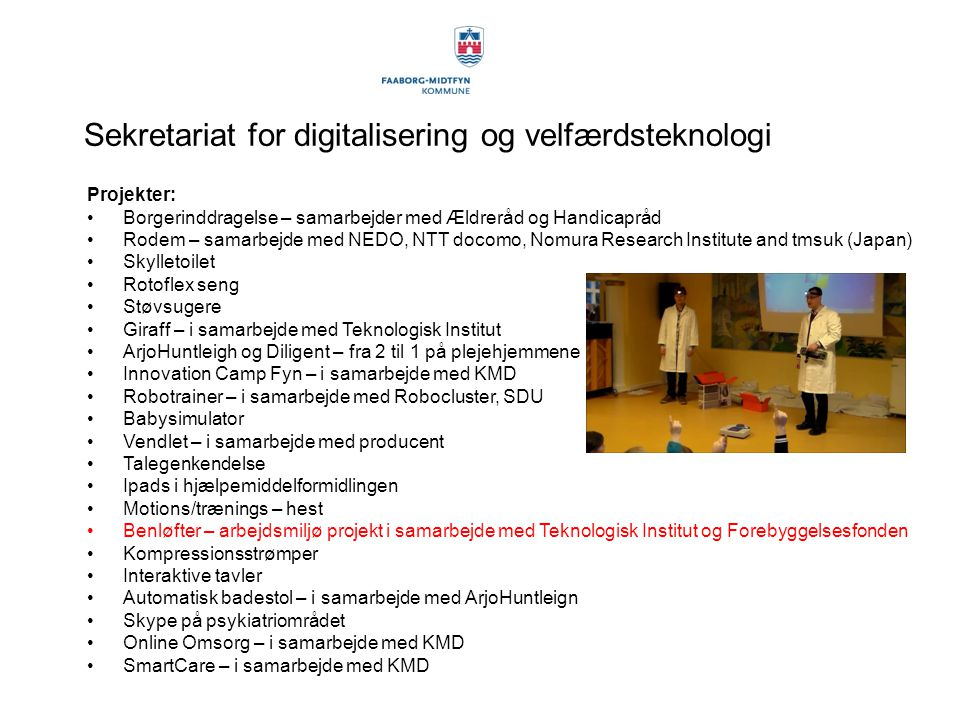 Sekretariat for digitalisering og velfærdsteknologi