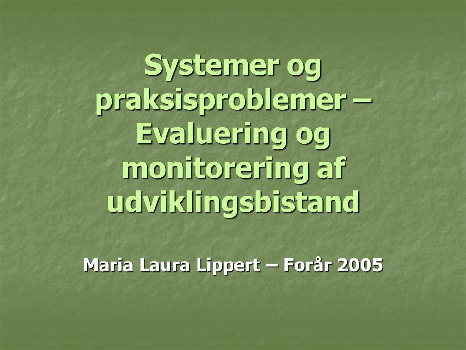 Maria Laura Lippert – Forår 2005