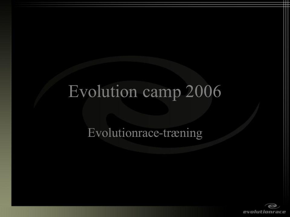 Evolutionrace-træning