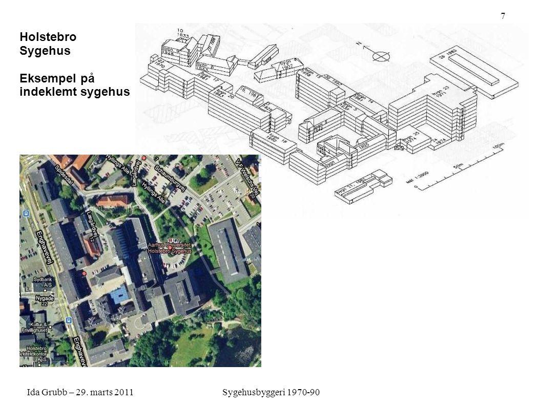 Holstebro Sygehus 4 Eksempel på indeklemt sygehus