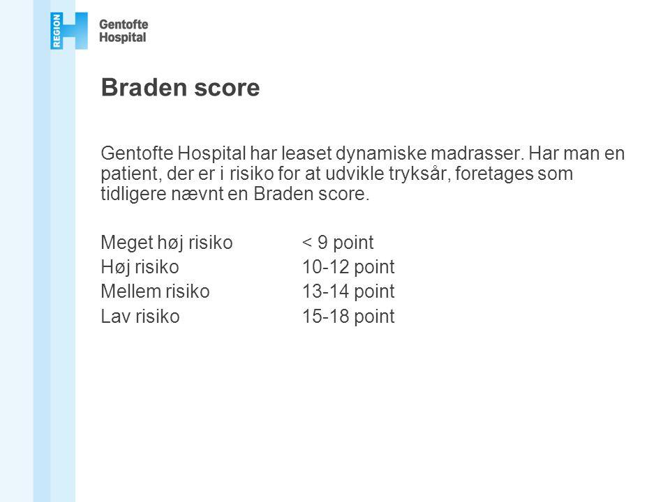 Braden score