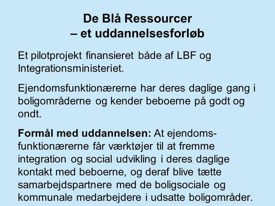 De Blå Ressourcer – et uddannelsesforløb