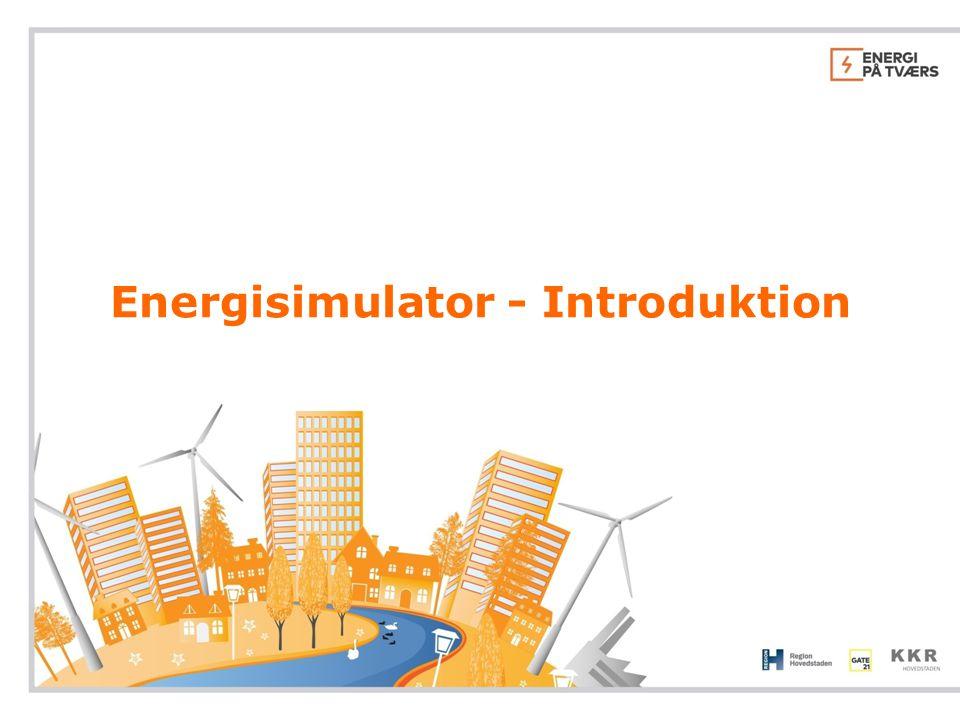 Energisimulator - Introduktion