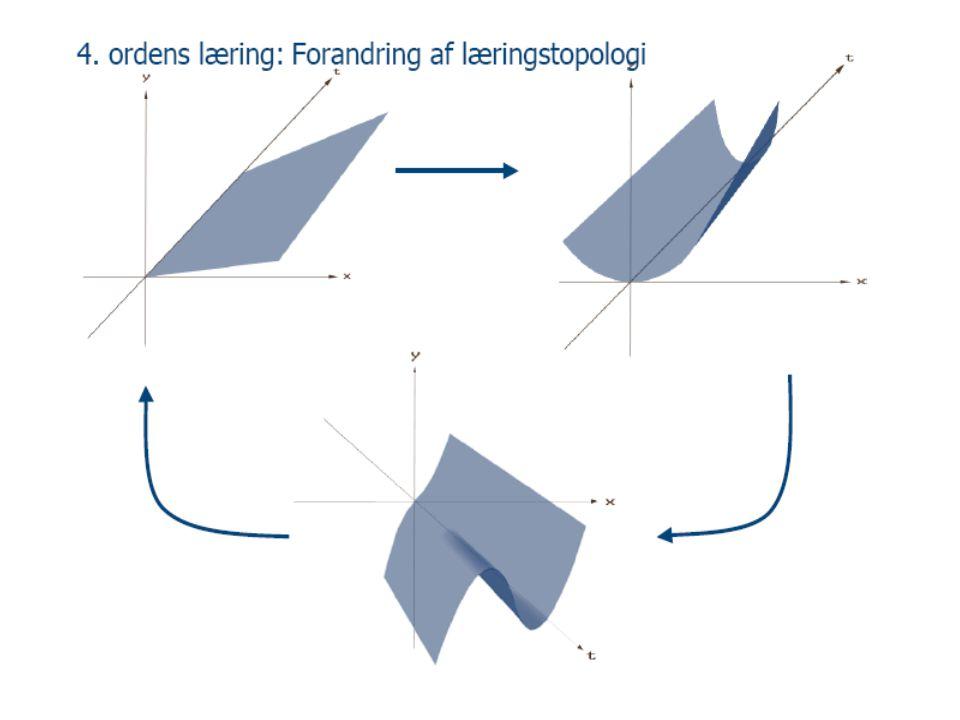 4. ordens læring: Forandring af læringstopologi