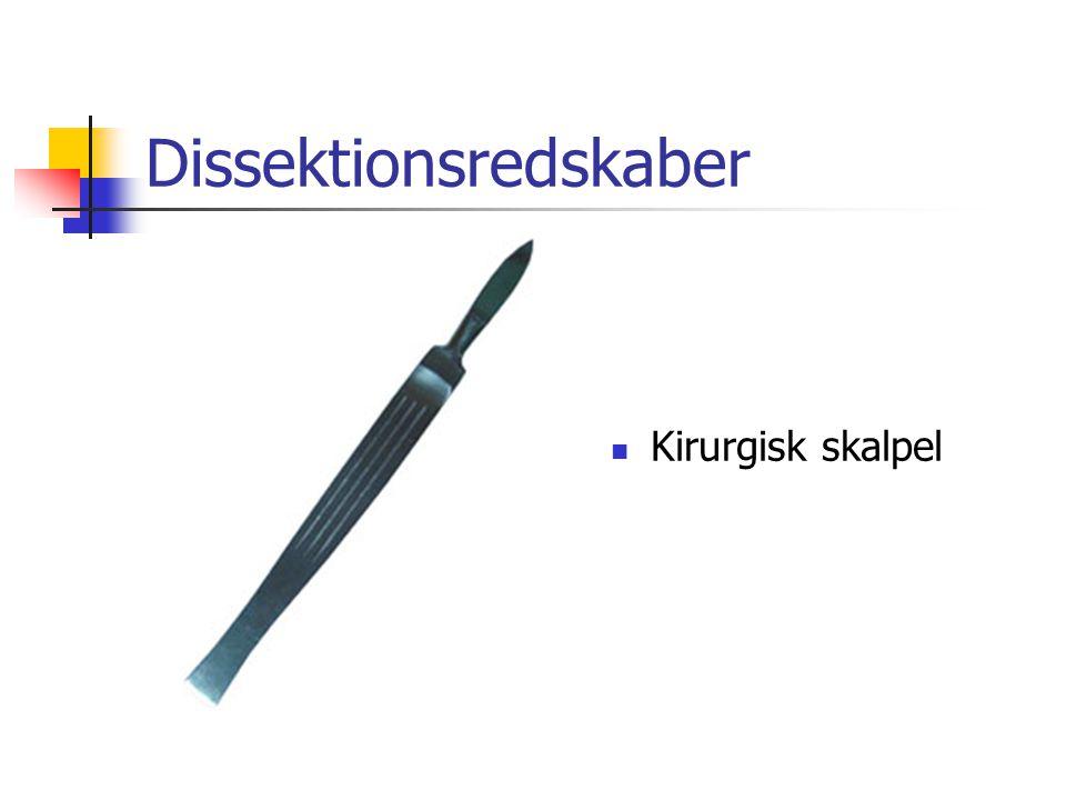 Dissektionsredskaber