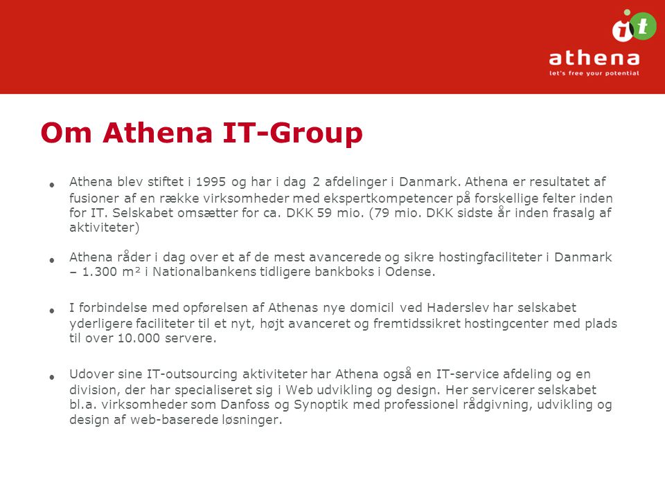 Om Athena IT-Group
