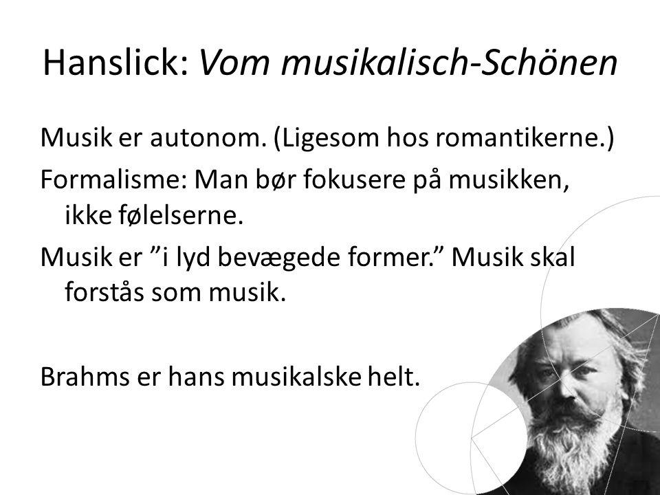 Hanslick: Vom musikalisch-Schönen