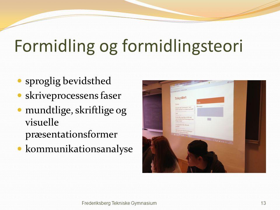 Formidling og formidlingsteori