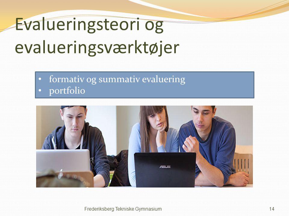 Evalueringsteori og evalueringsværktøjer