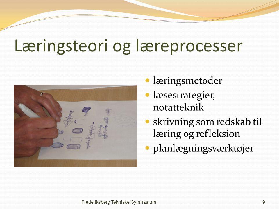 Læringsteori og læreprocesser