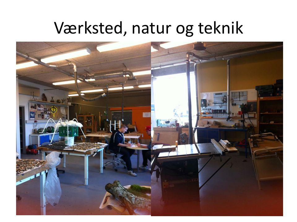Værksted, natur og teknik