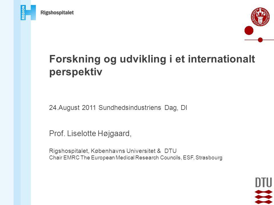 Forskning og udvikling i et internationalt perspektiv