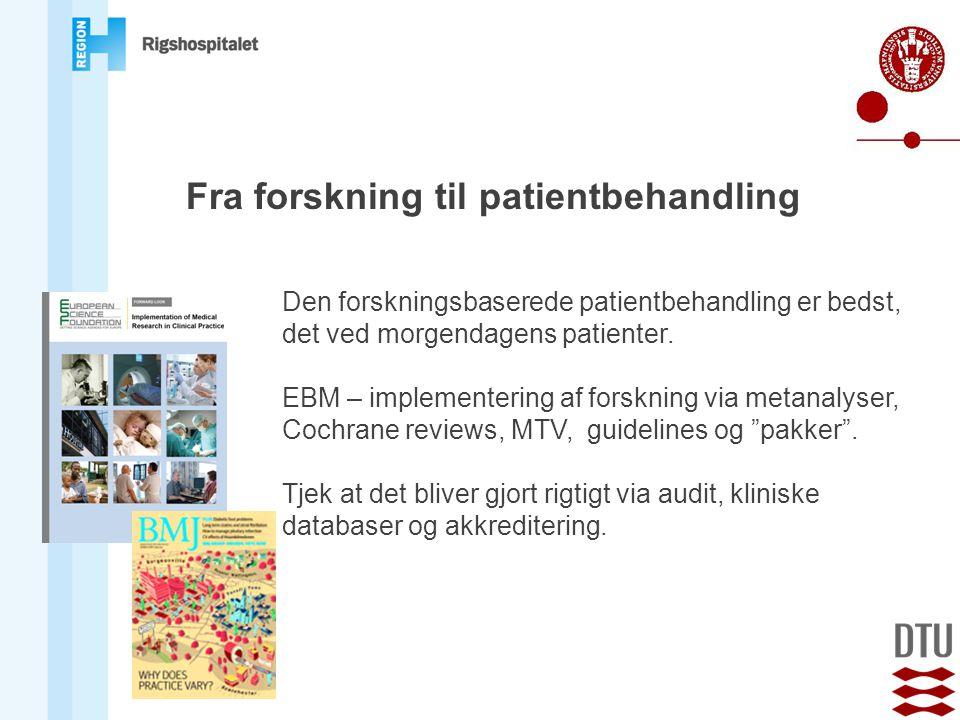 Fra forskning til patientbehandling
