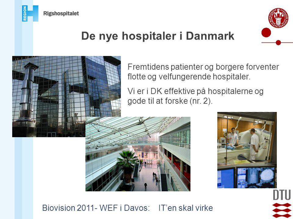 De nye hospitaler i Danmark