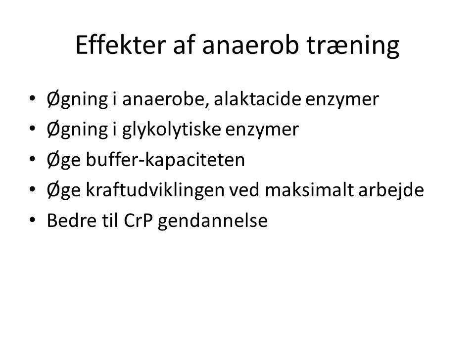 Effekter af anaerob træning
