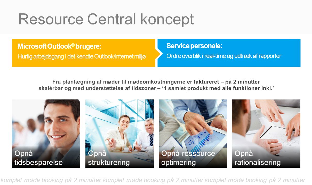 Resource Central koncept