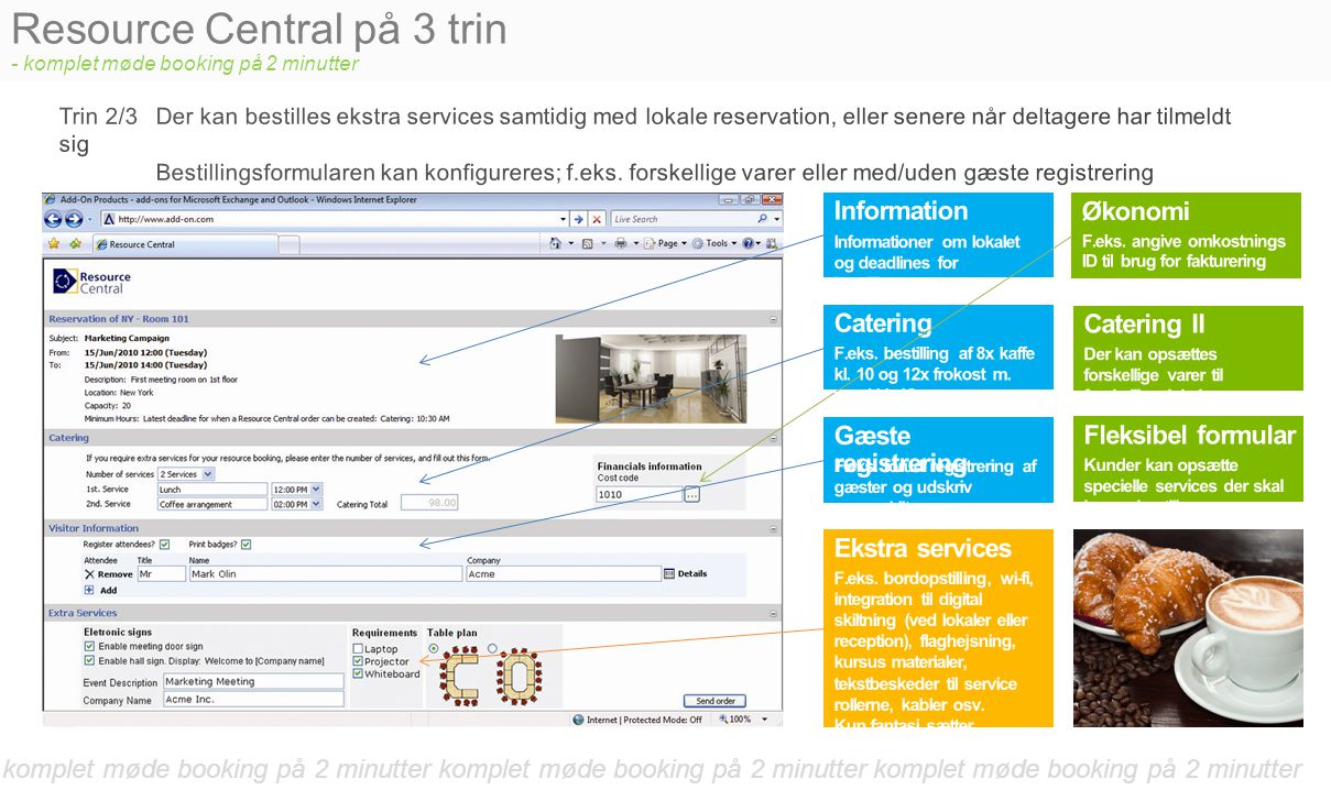 Resource Central på 3 trin