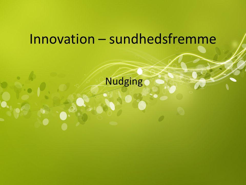 Innovation – sundhedsfremme