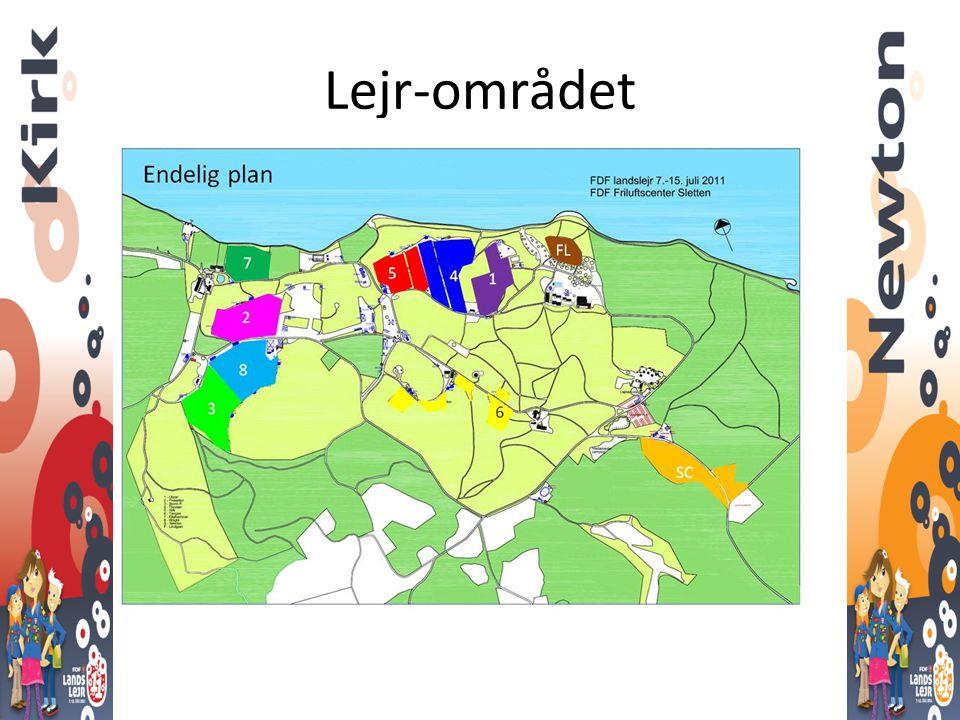 Lejr-området