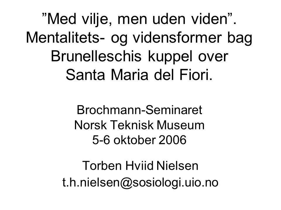 Torben Hviid Nielsen t.h.nielsen@sosiologi.uio.no