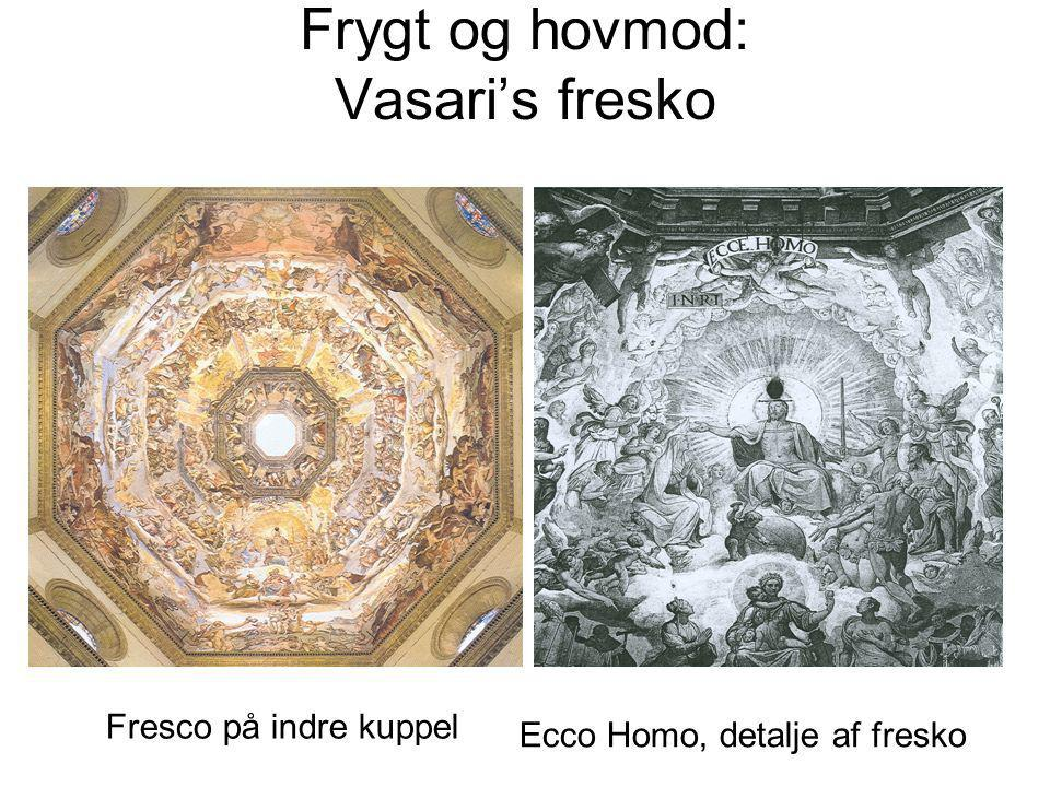 Frygt og hovmod: Vasari's fresko