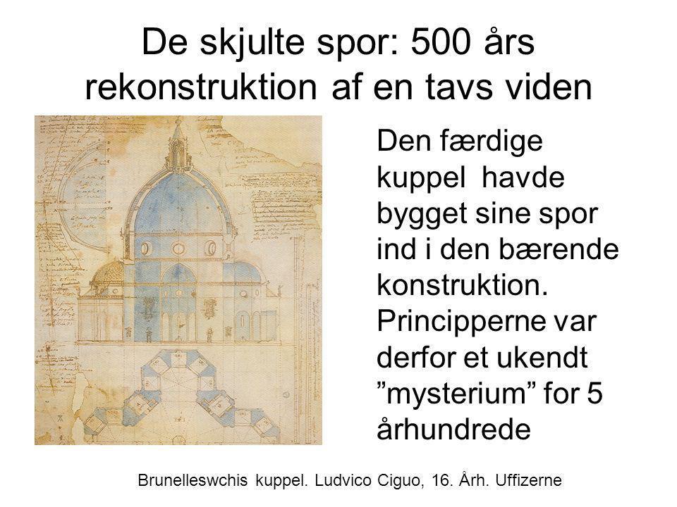 De skjulte spor: 500 års rekonstruktion af en tavs viden
