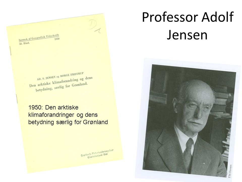 Professor Adolf Jensen