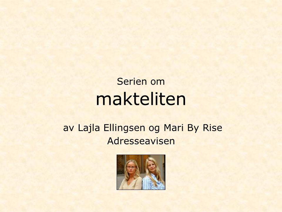 av Lajla Ellingsen og Mari By Rise Adresseavisen