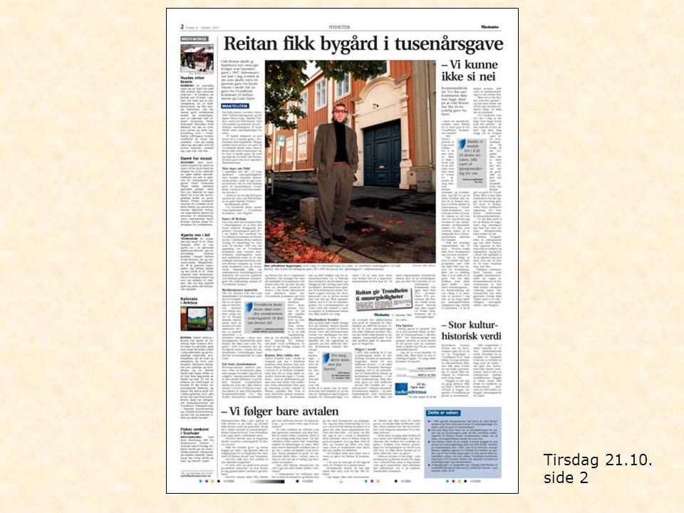 Tirsdag 21.10. side 2