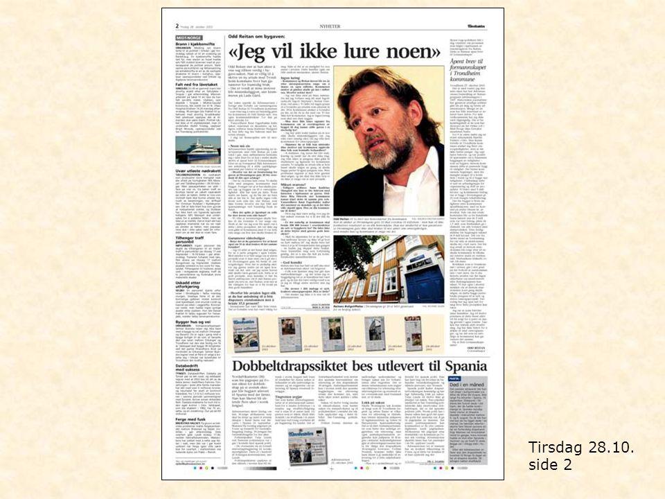 Tirsdag 28.10. side 2