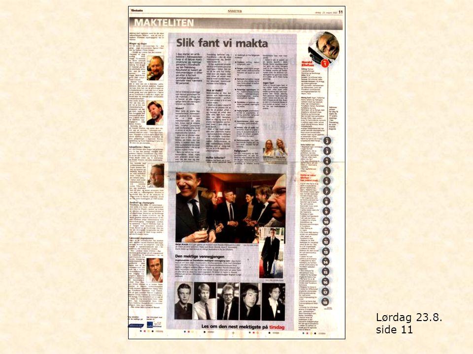 Lørdag 23.8. side 11